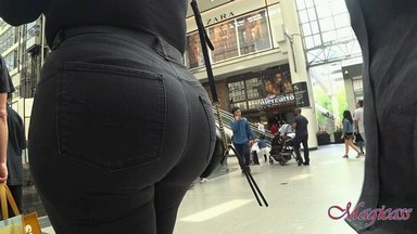 #9 Round Big Ass with Black Jeans