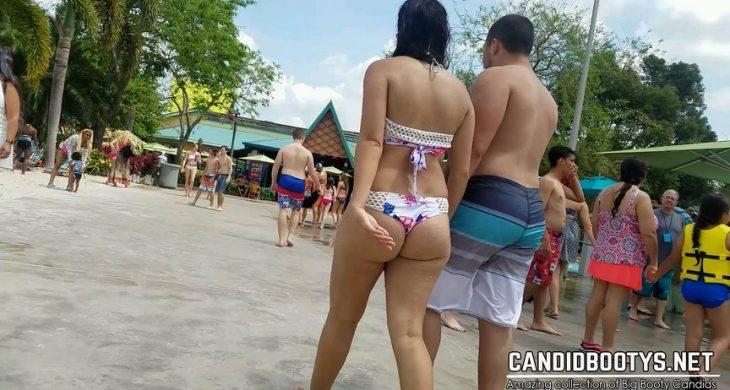 Booty Pool Bikini White