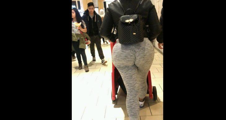 BigBooty Latina Spandex Walking