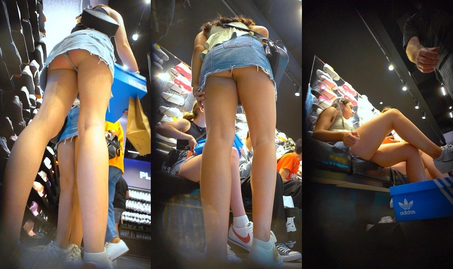 Calvin klein criticized for upskirt underwear ad
