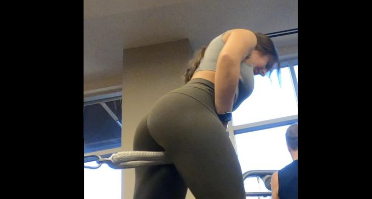 Sexy Booty in Spandex Gym Part 3