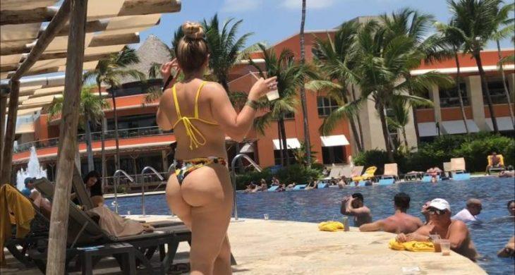 Blonde Bikini Big Booty
