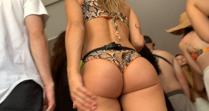 Sexy Blonde Big Booty Bikini