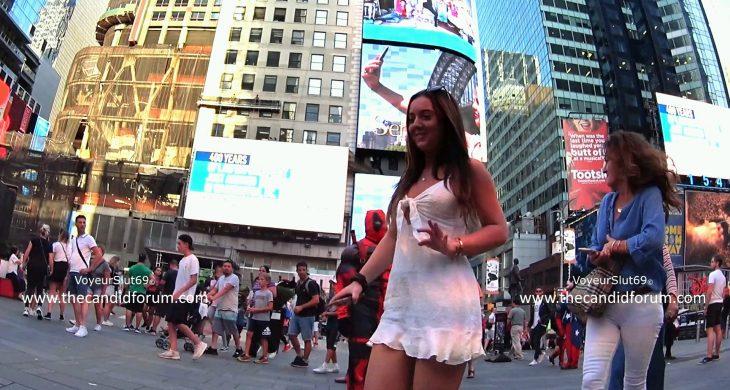 Dress Upskirt New York Voyeurslut69