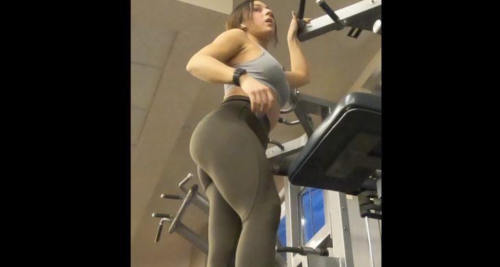 Sexy Spandex Booty Gym