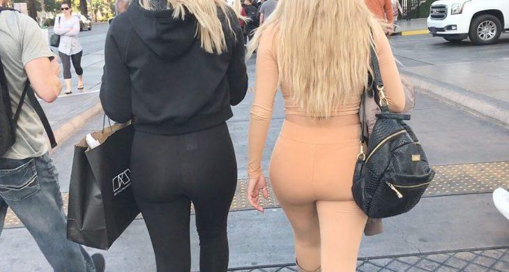 CandidCreeps Blonde Leggings Teens
