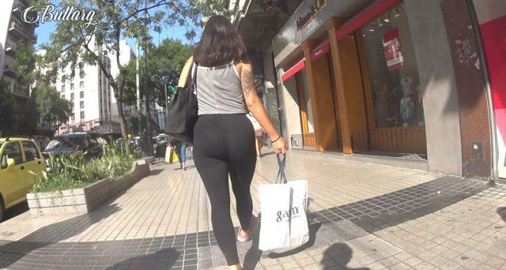 ButtArg Spandex Teen Booty Argentina