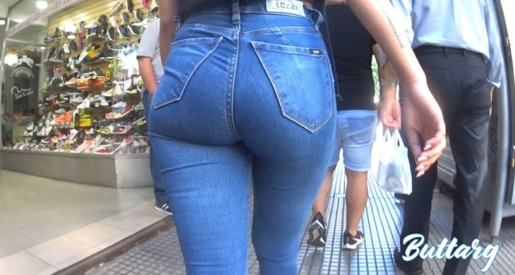 Very nice shape in blue Sexys jeans ButtArg