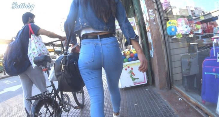 Beautiful Babe Argentina Teen with Jeans ButtArg