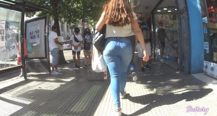 Sexy Babe Shopping Argentina Teen ButtArg