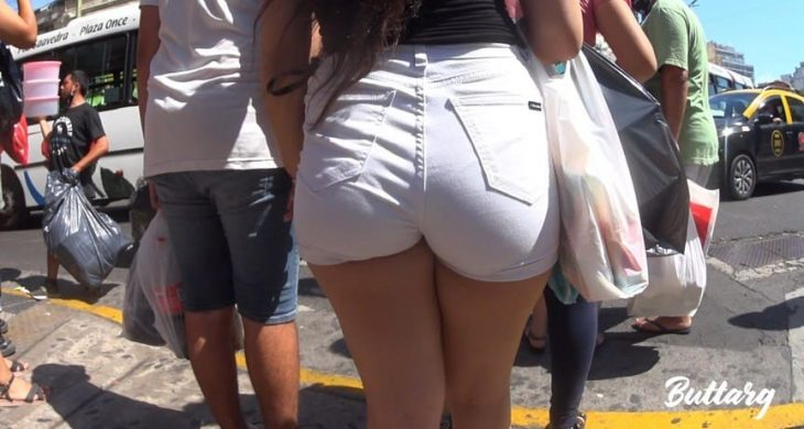 Sexy Babe Teen Whitey hot shorts ButtArg