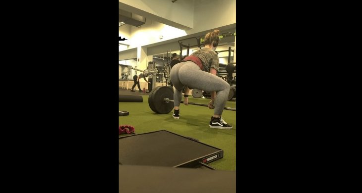 Super Tight Dead lifts Gym BigBooty
