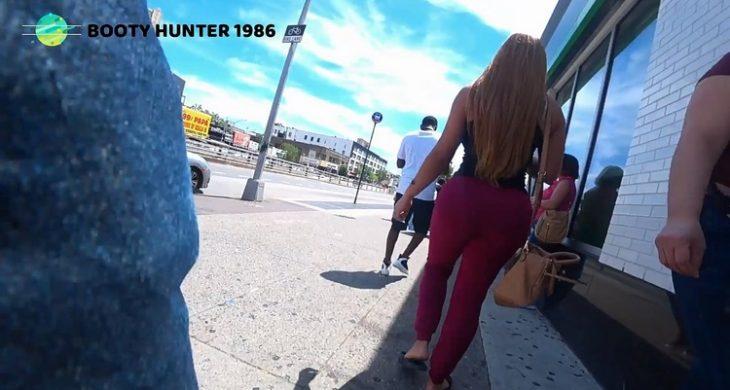 Sexy Big Booty Latina with Spandex BootyHunter1986